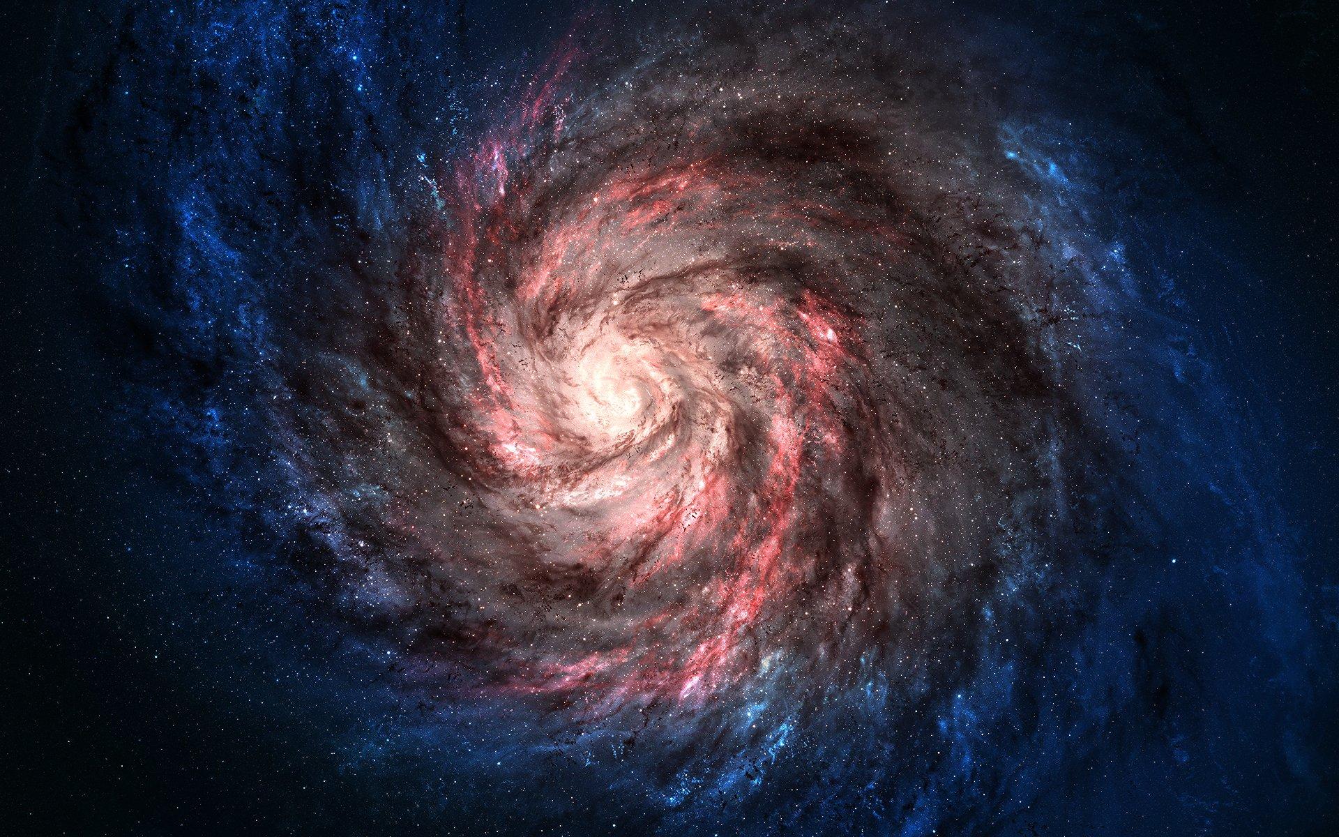 чёрная дыра в космосе