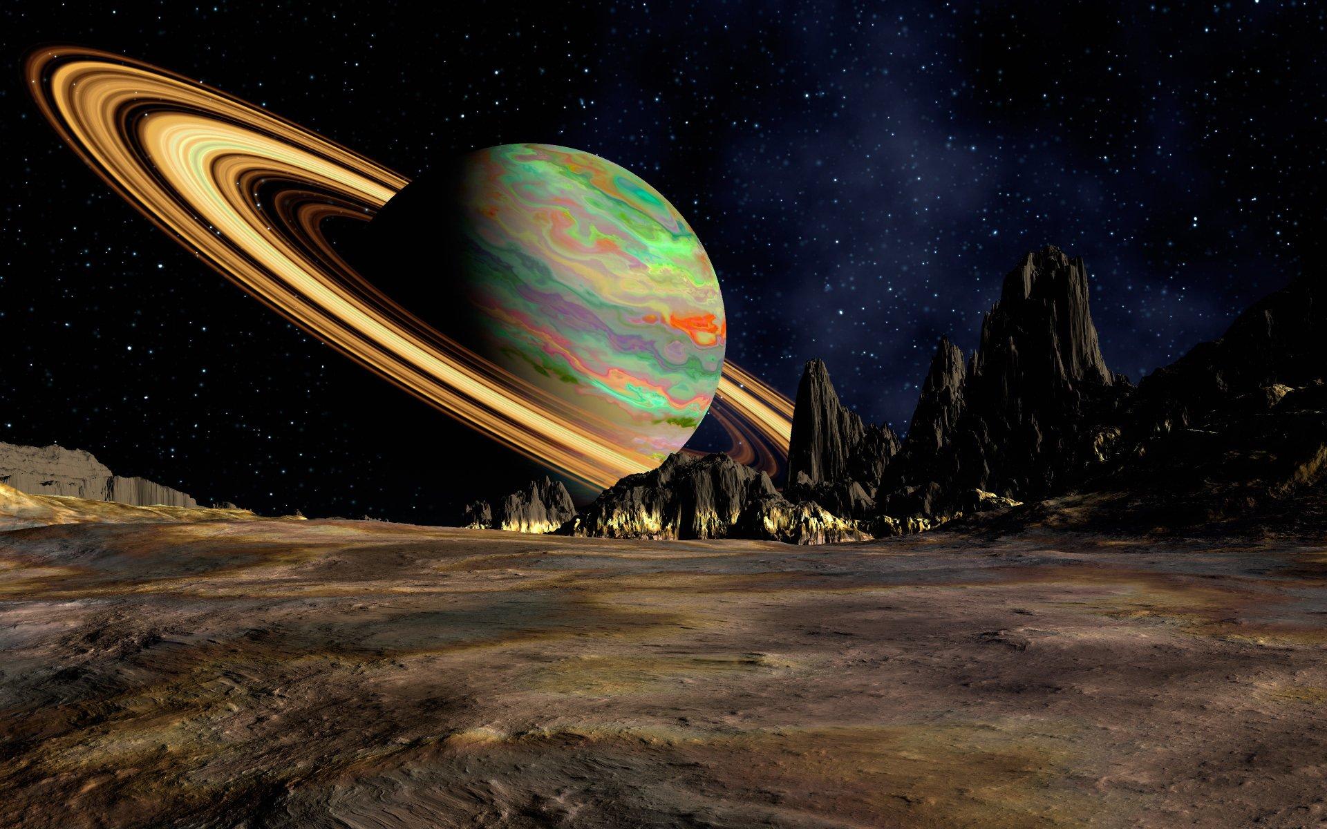 представляет собой фото космоса планет чудо это