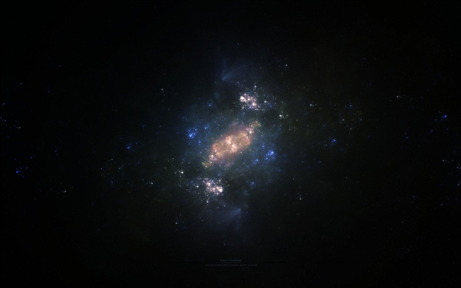 Обои Бездна, пустота, планеты, туманность. Космос foto 10