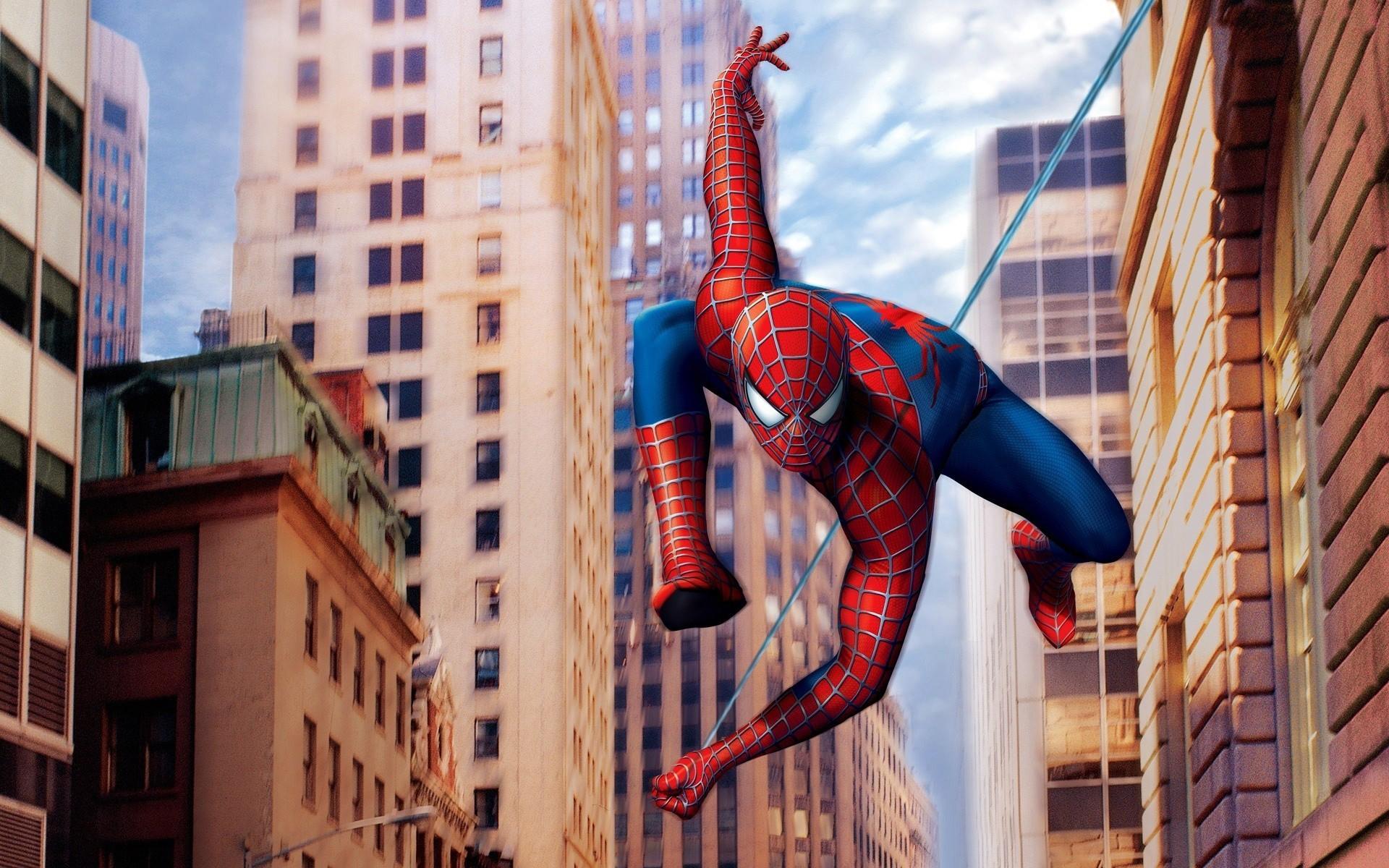 Человек-паук картинка большая
