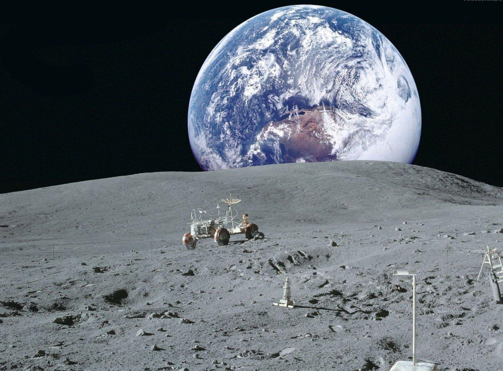 Фотографии земли с луны высокого разрешения соответствии