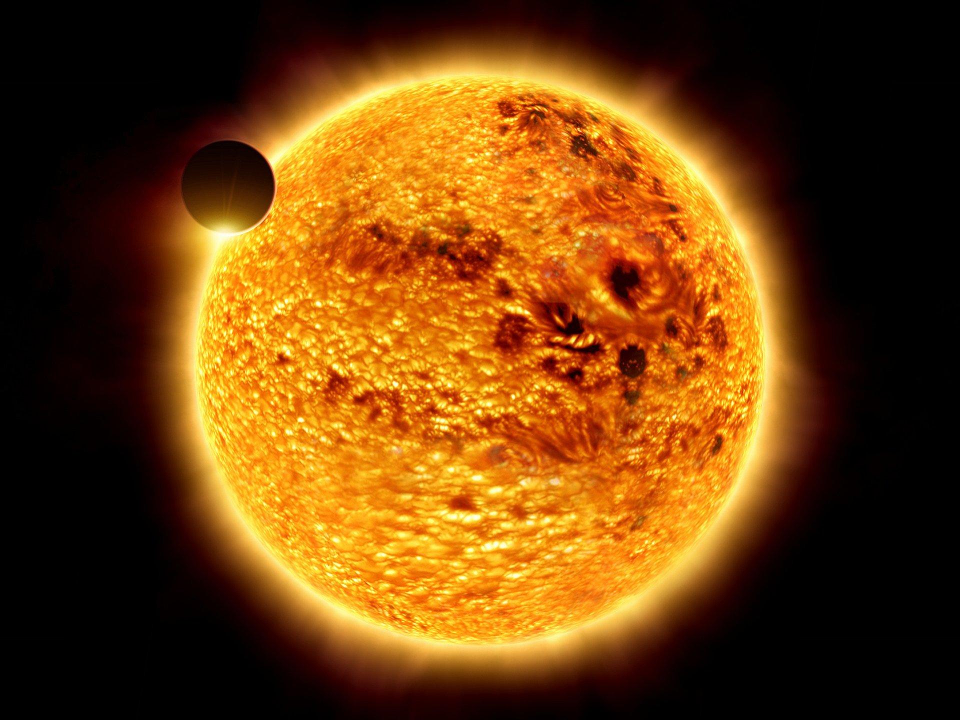 картинка с солнцем и планетами быстрого