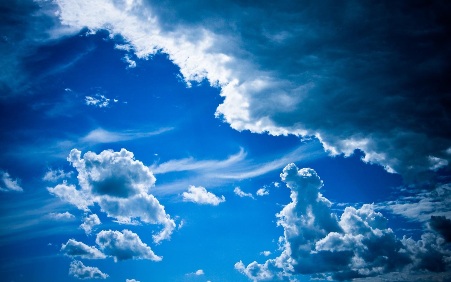 Красивые картинки небо с облаками