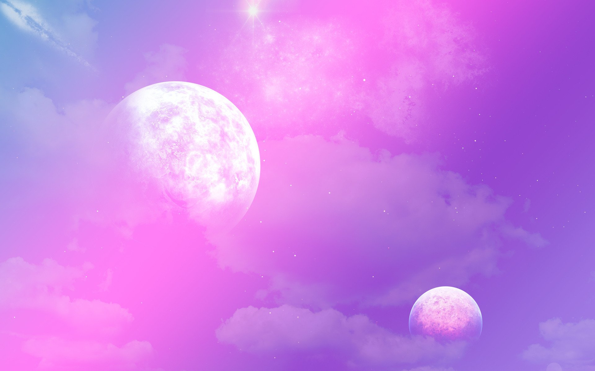 pink planet images - HD 1920×1200