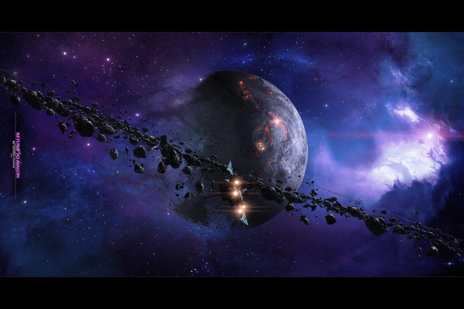 Обои космос планета корабль картинки на рабочий стол на тему Космос - скачать  № 3125524 без смс