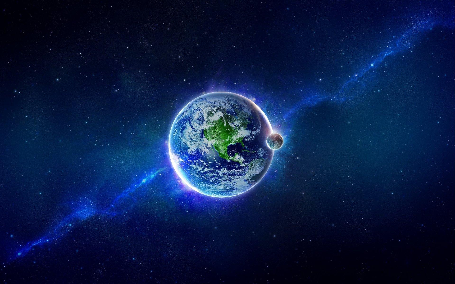 Обои Бездна, пустота, планеты, туманность. Космос foto 18
