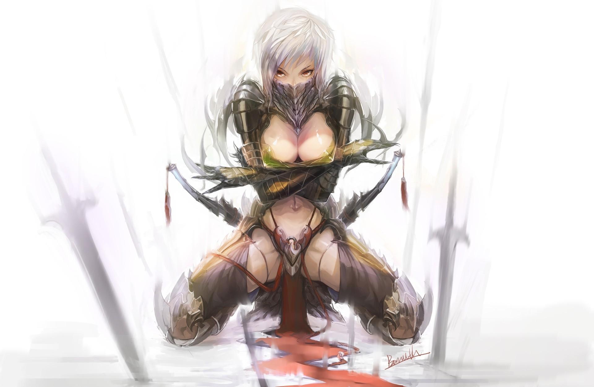 Assassin девушка обрез скачать