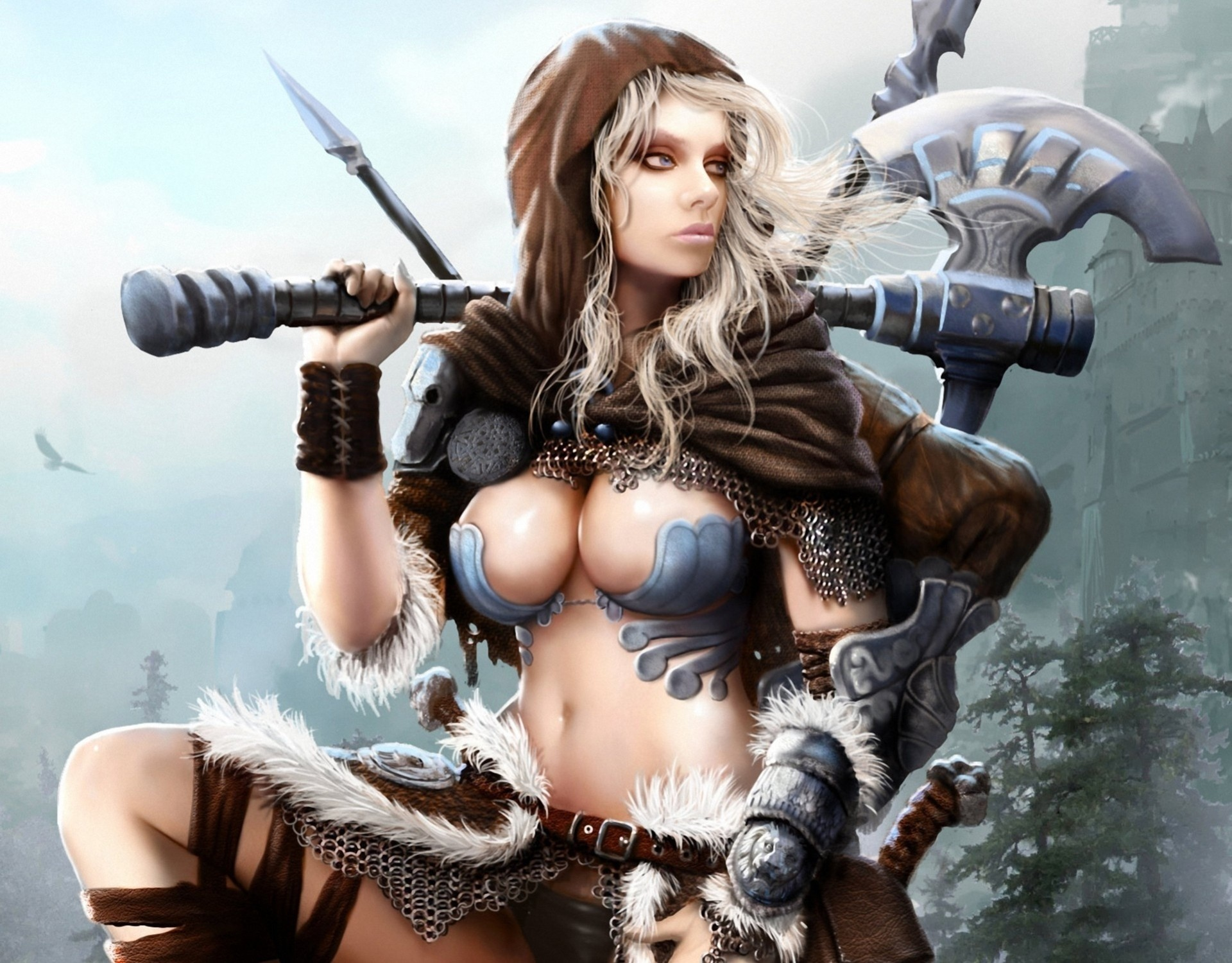 Warrior women big boobs pics — 12
