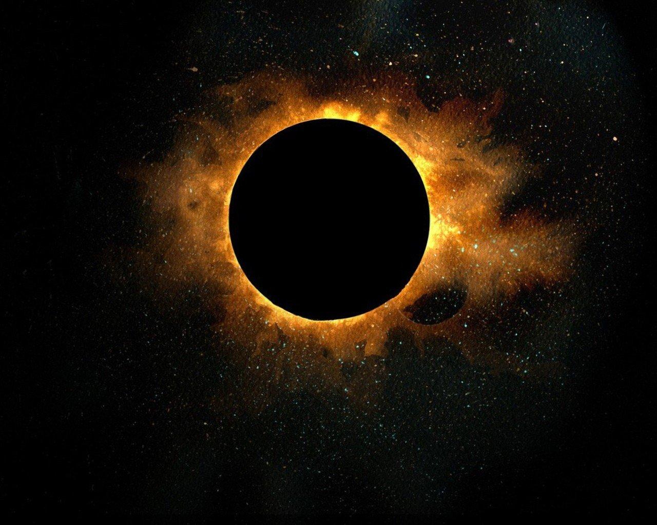 Солнечное затмение картинки красивые