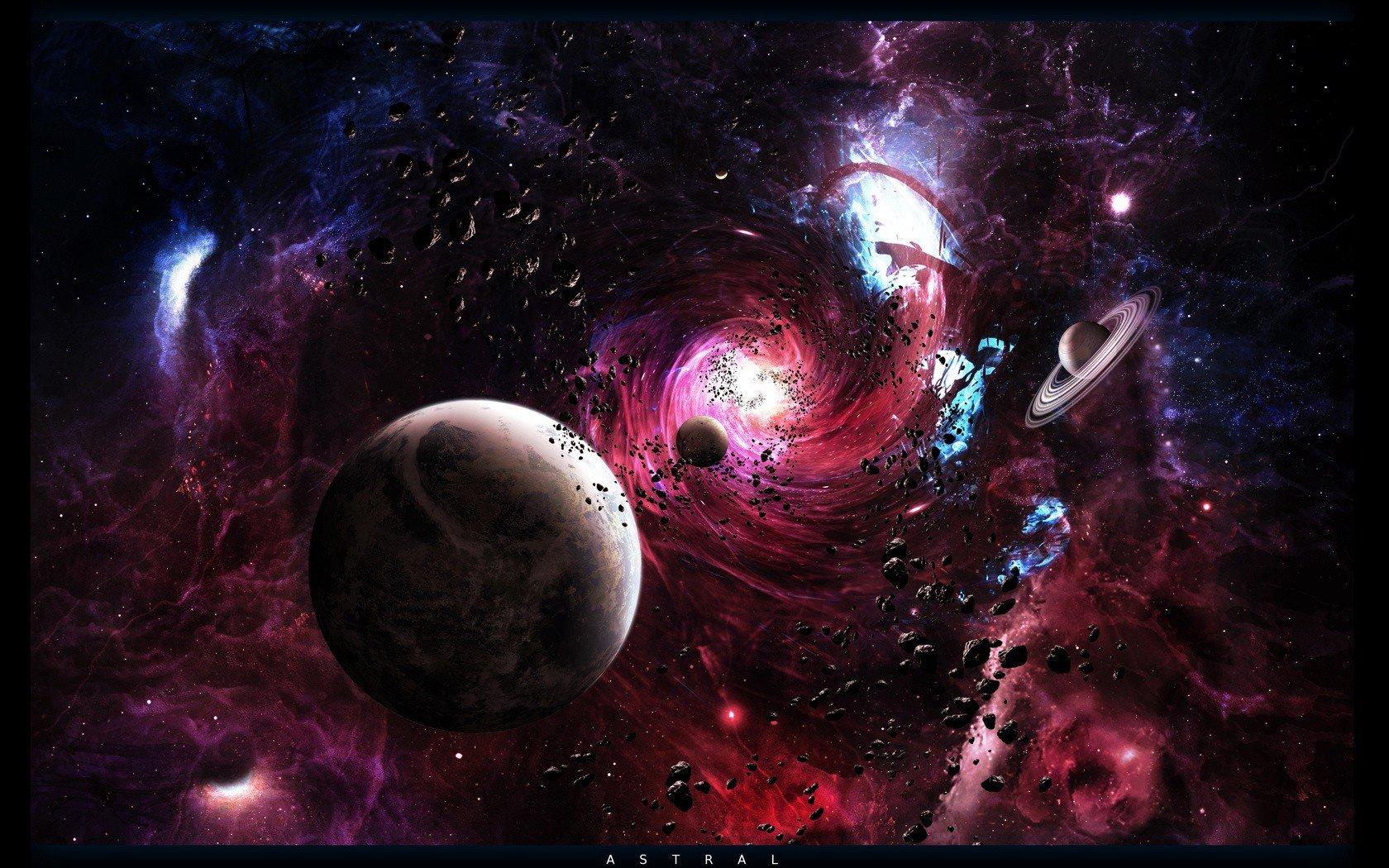 Обои Ужасающий космос картинки на рабочий стол на тему Космос - скачать загрузить