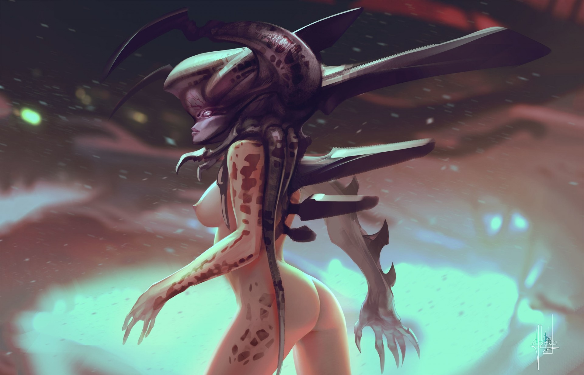Nude demon girls naked pic