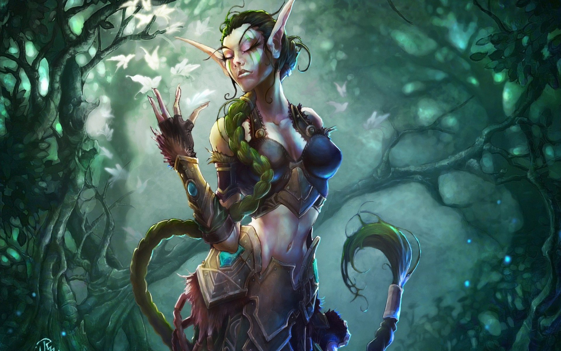 Warcraft dryad erotic nude tube