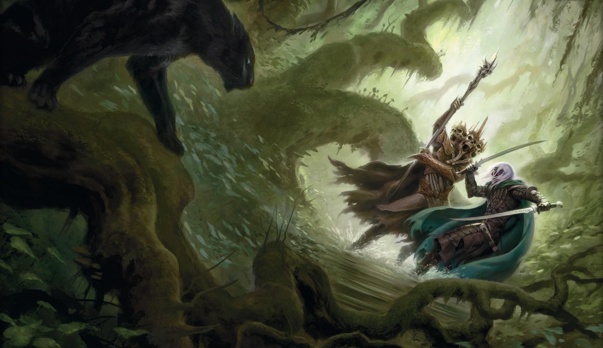 Forgotten realms dark elf girl adult clips