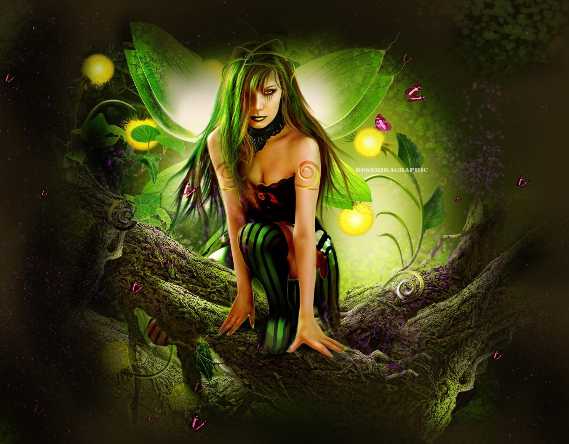 картинки с эльфами и феями на телефон леди