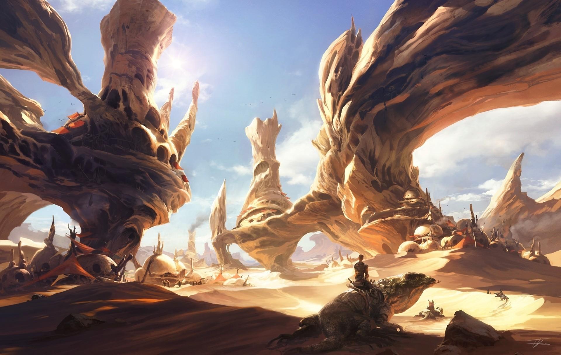 фэнтези пустыня  № 946875 бесплатно