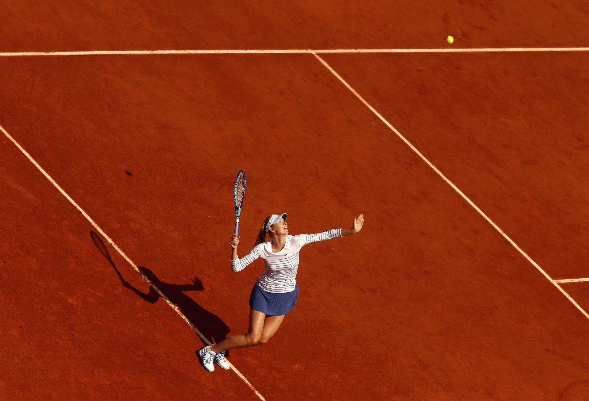 Обои ракетка, Мария шарапова, мяч. Спорт foto 12
