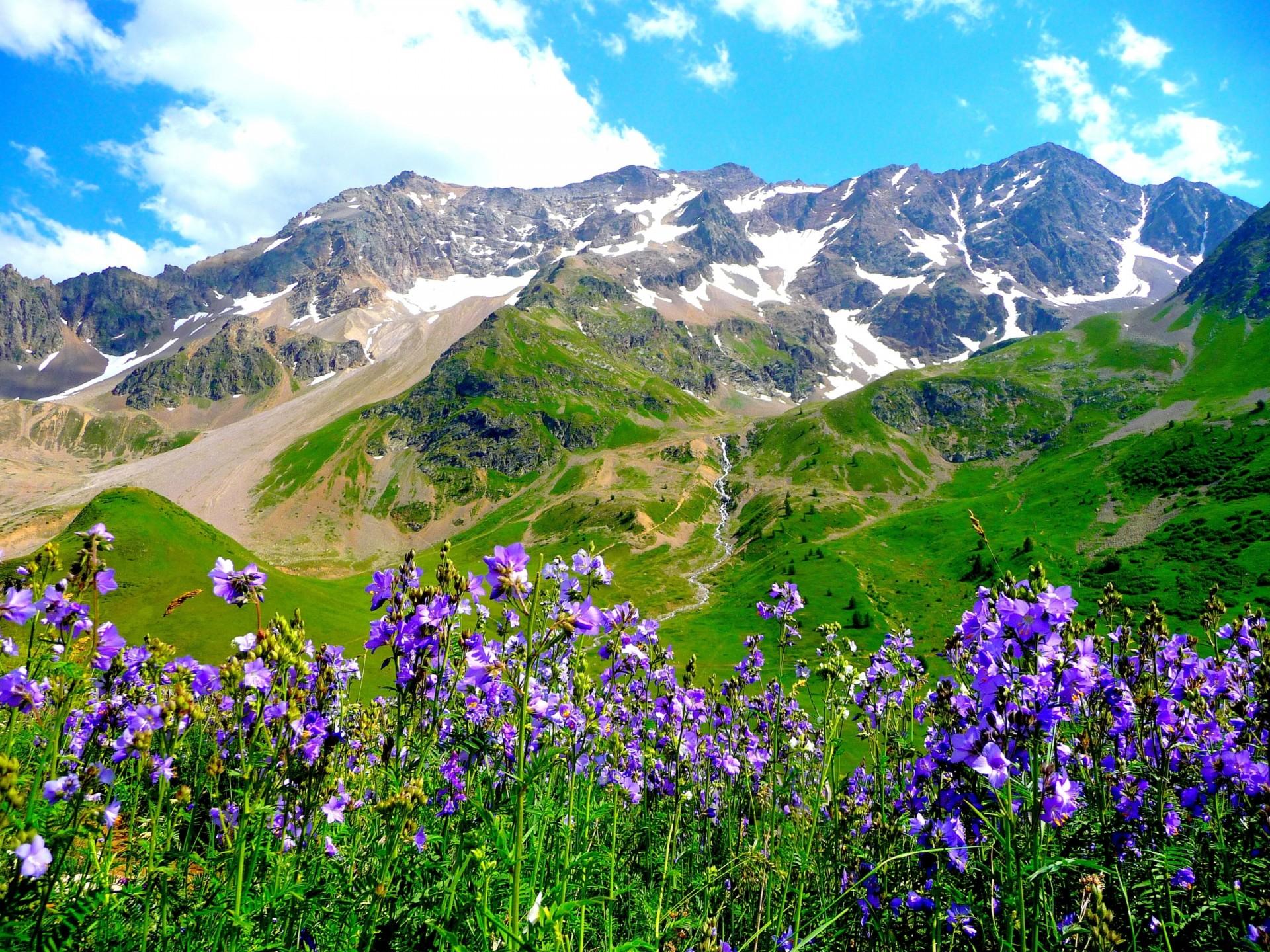 Обои альпы, Пейзаж. Минимализм foto 18