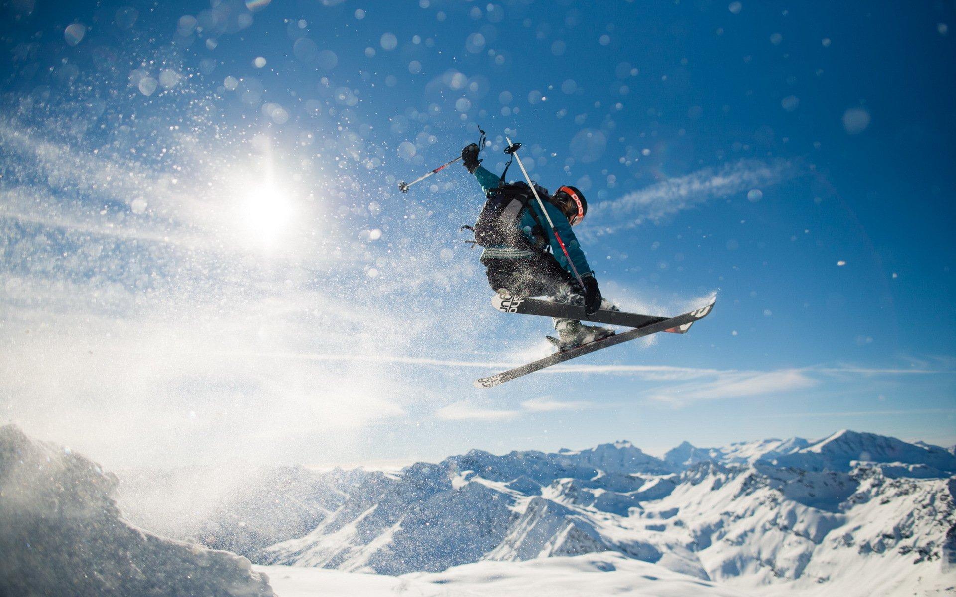 сноубордист вираж снег солнце  № 3559561 без смс