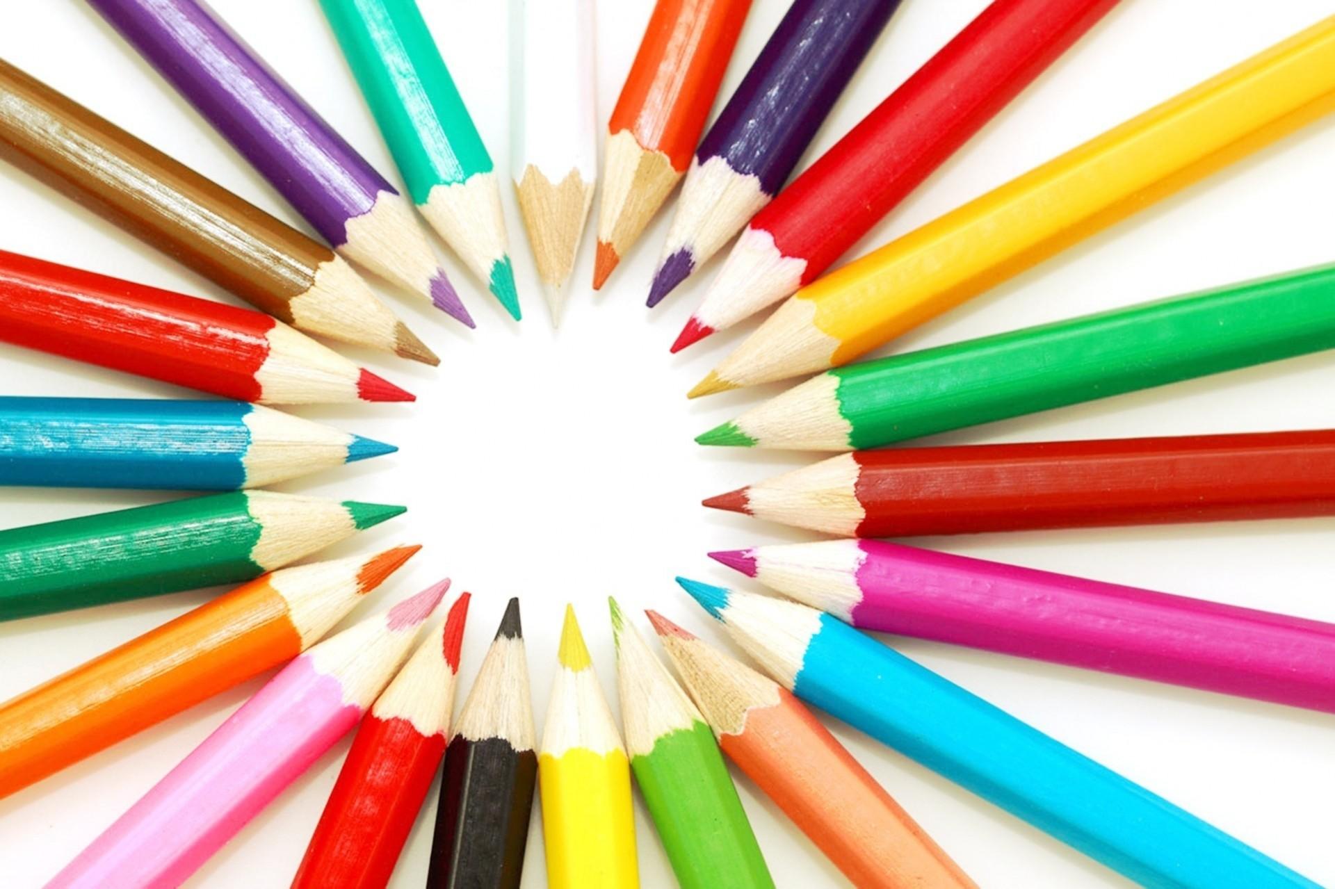 цветные карандаши крупный план color pencils large plan скачать
