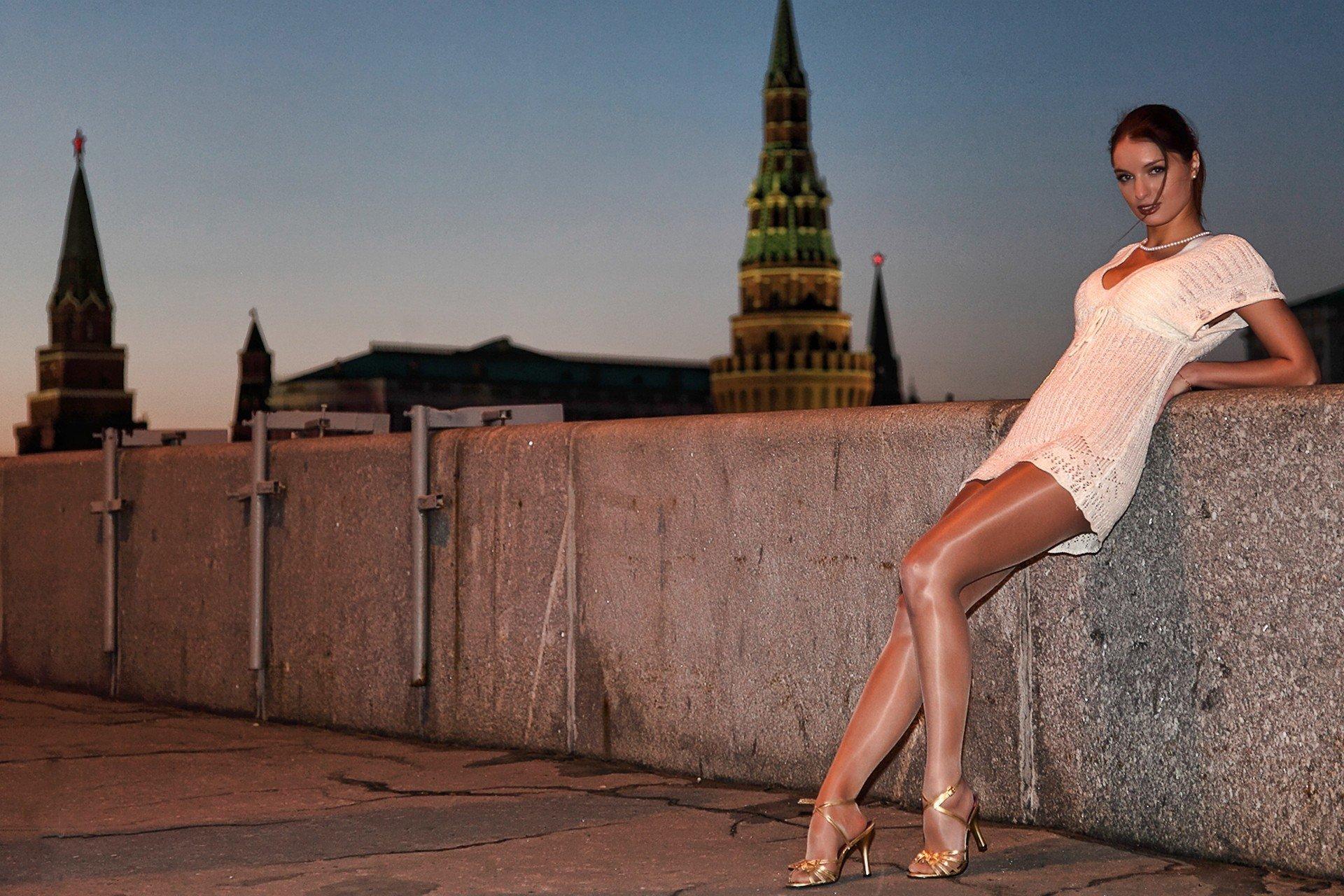 Фото московских девочек, Летние девушки в Москве (88 фото) 24 фотография