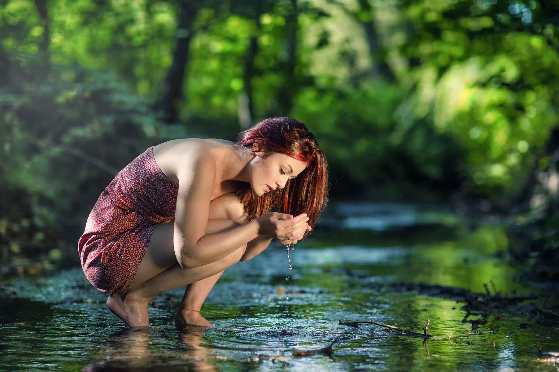 Русское порно мать и синь упавшая в реку