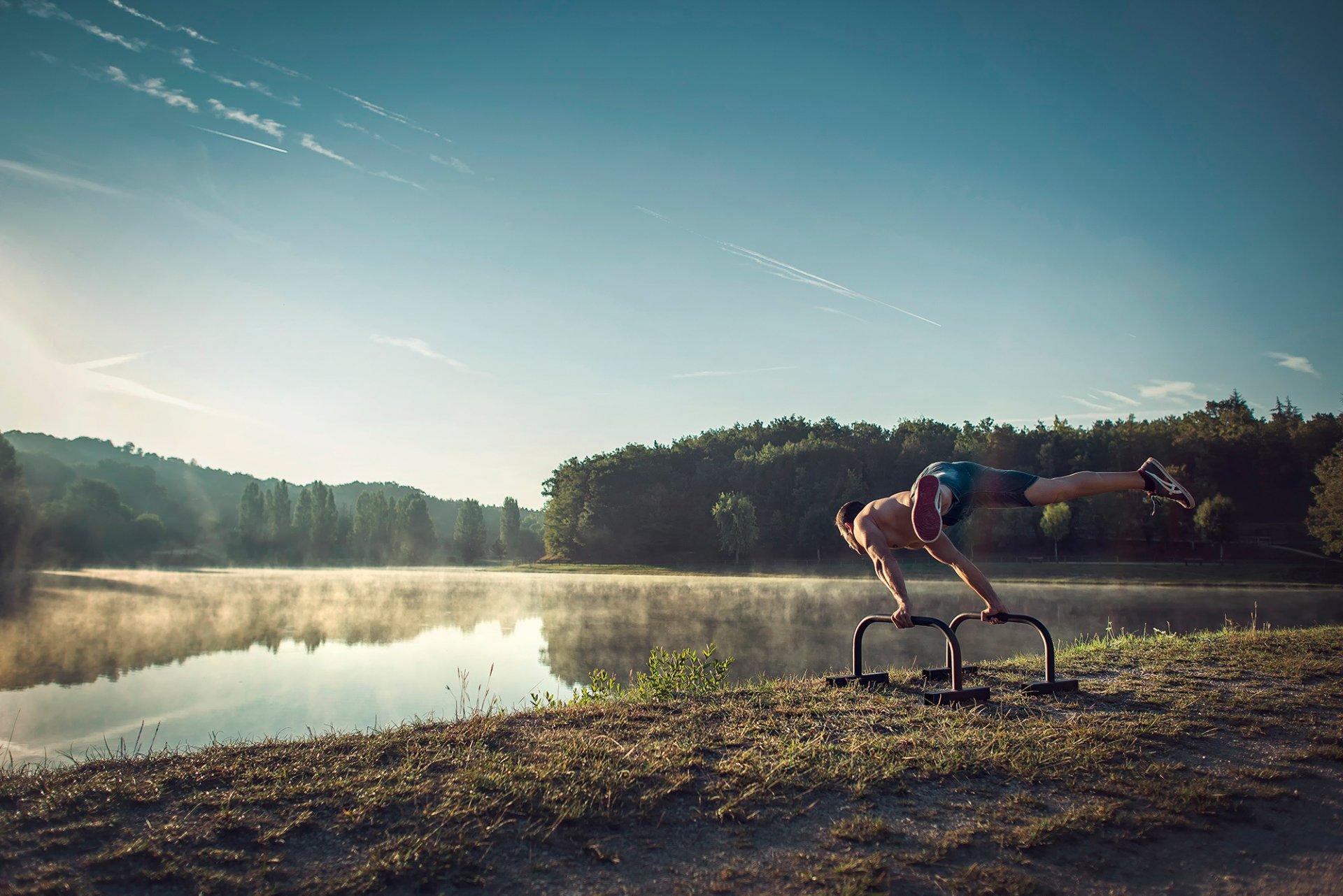 Днем, спортивная картинка с добрым утром