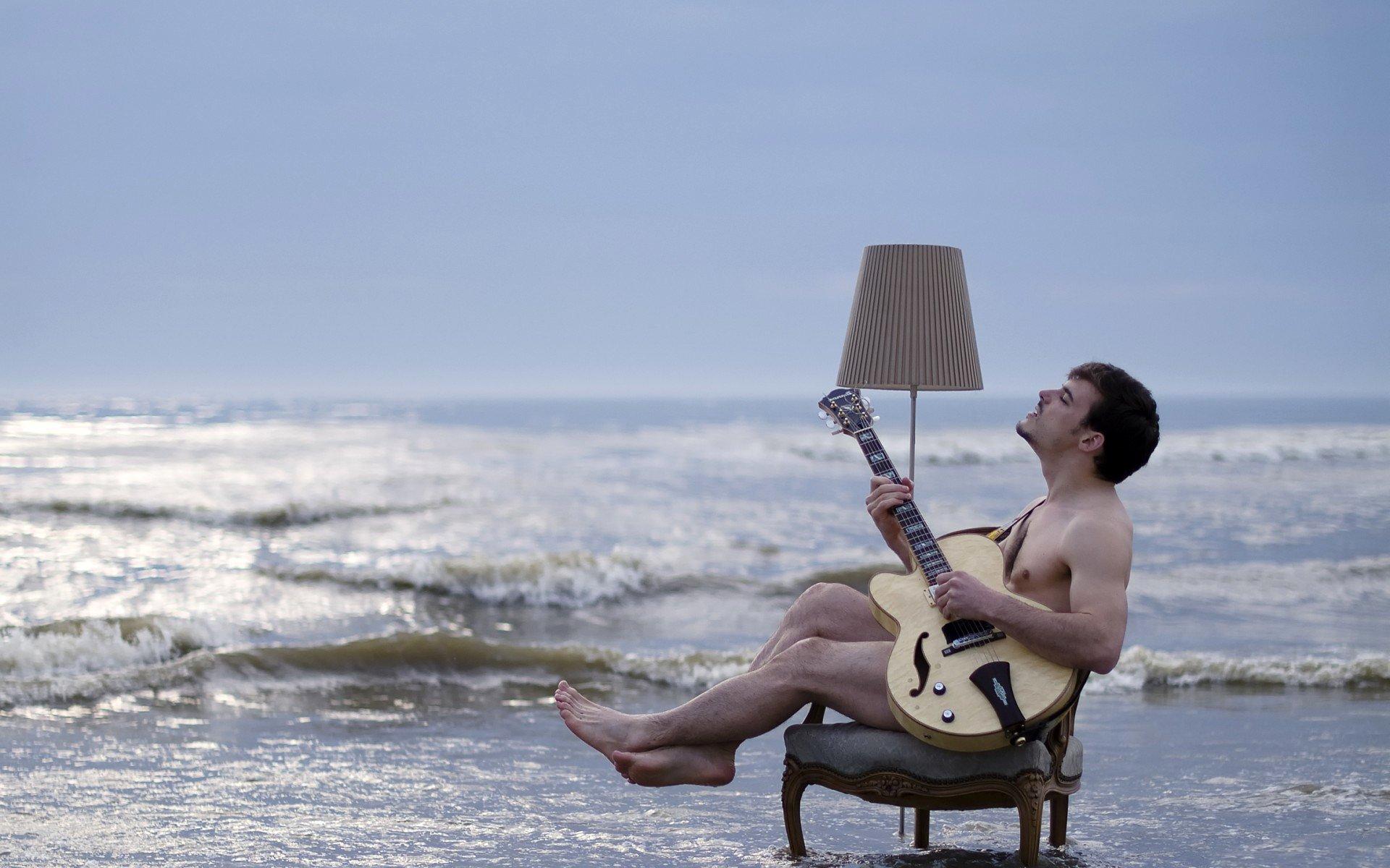 Картинках, прикол картинка мужик на пляже