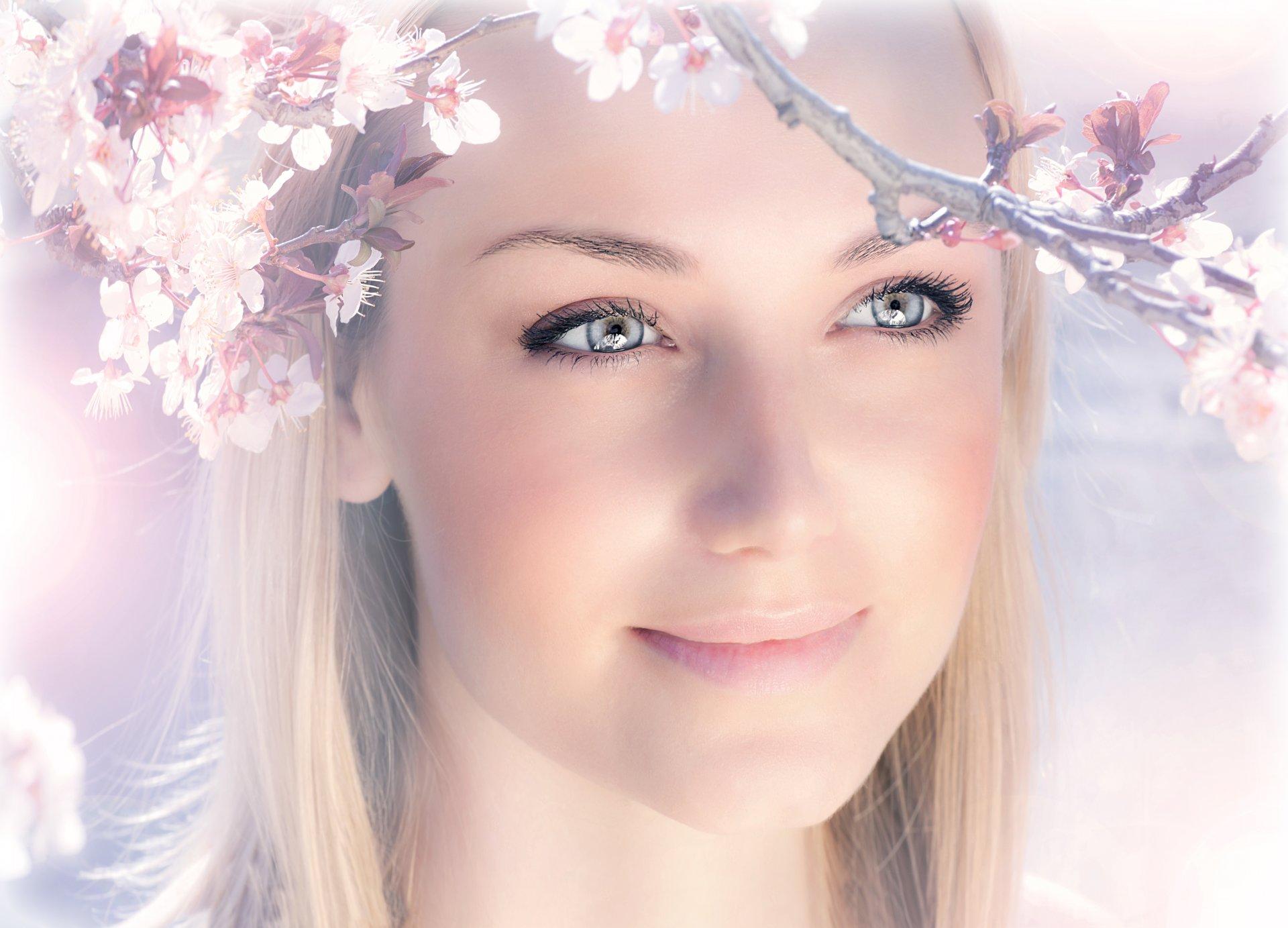 Улыбка весна девушка