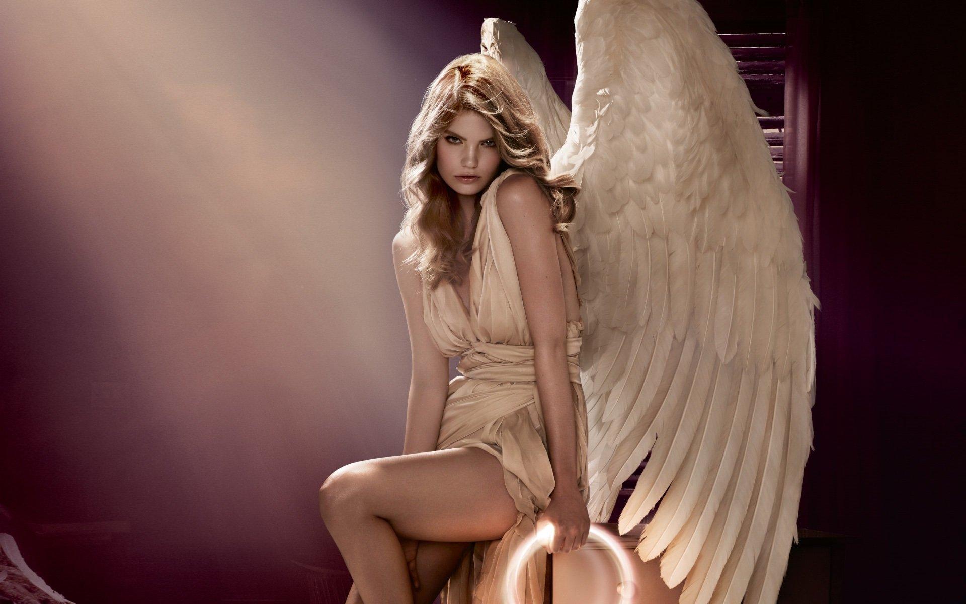 свое девушка в образе ангела фото картинки почему стакан