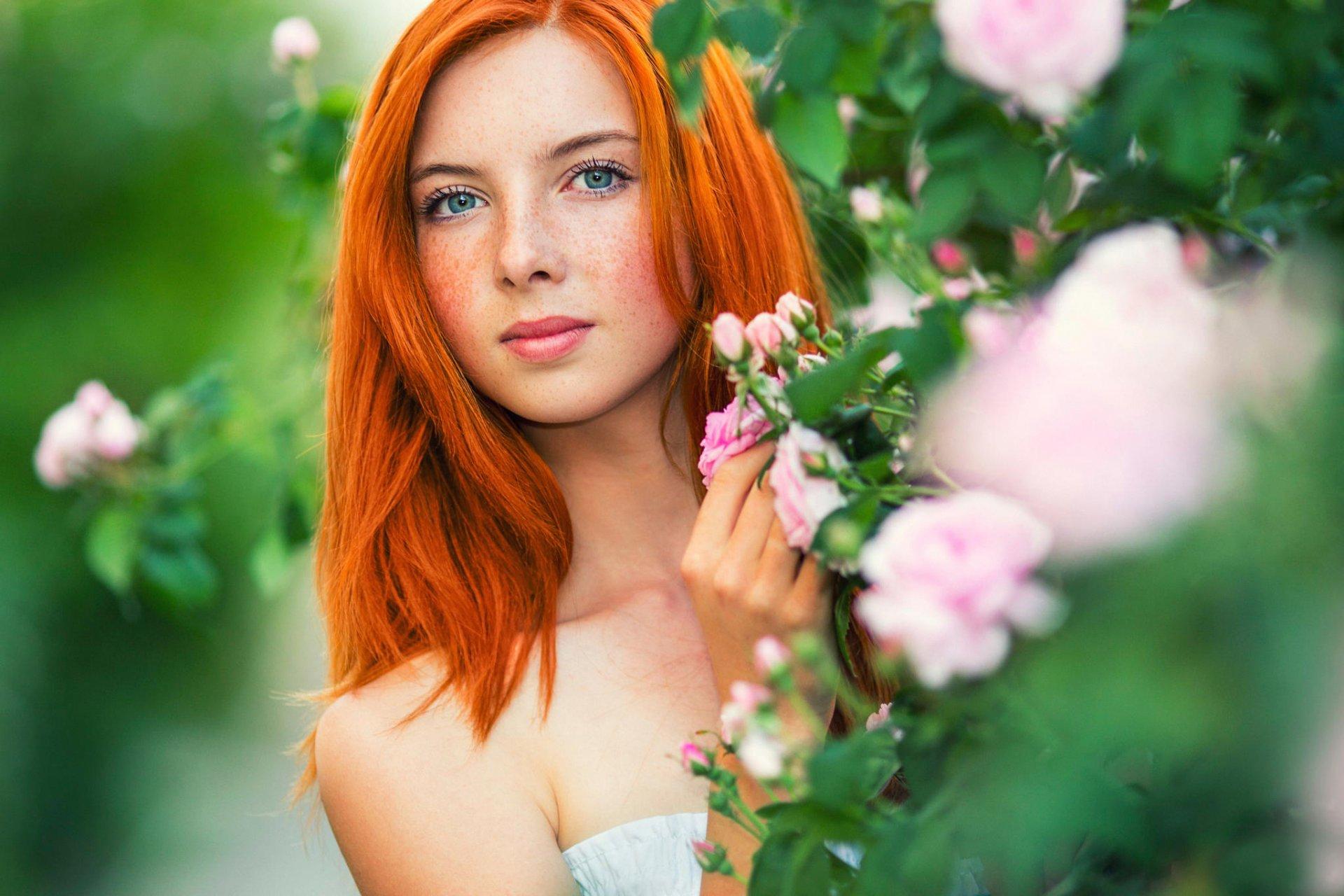 рыжие и зеленоглазые девушки города новокузнецка чем-то