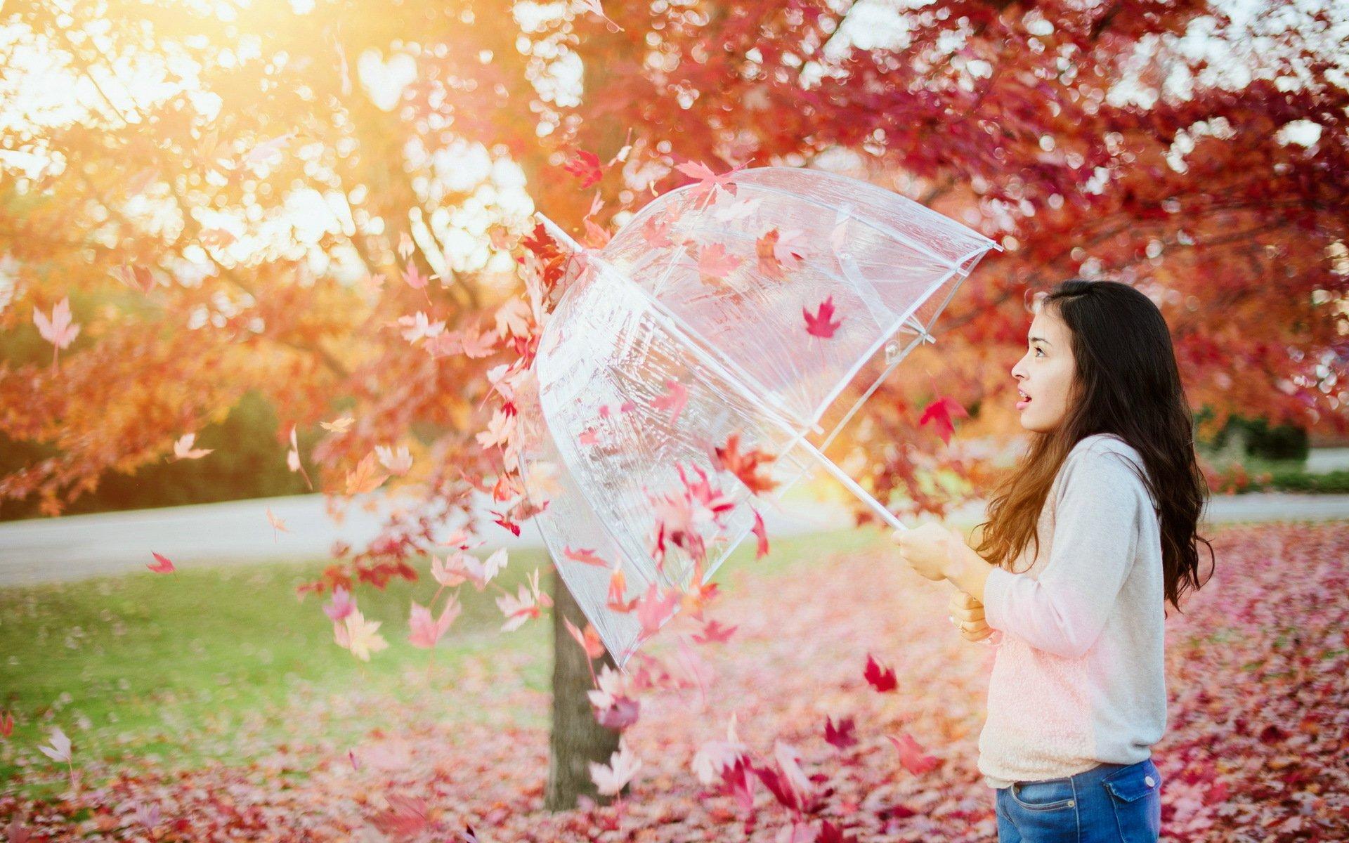 девушка берет осень скачать