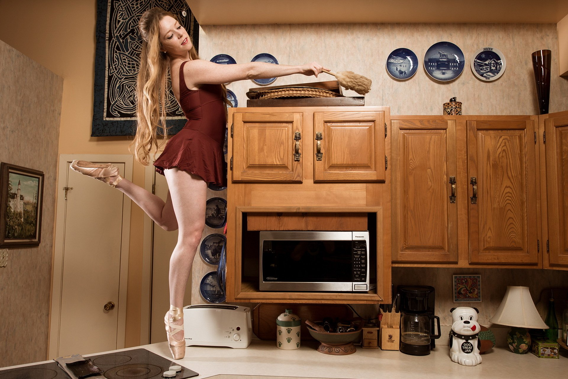 Кухонном быстрый перепехон столе на