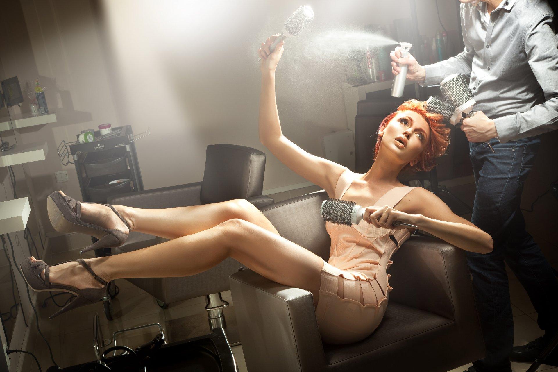 Белом фоне, парикмахер картинки прикольные для рекламы