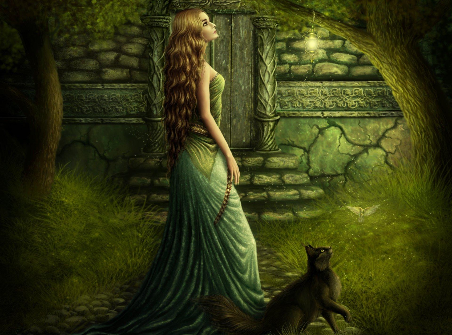 красивые мистические открытки красоты цветы, которые