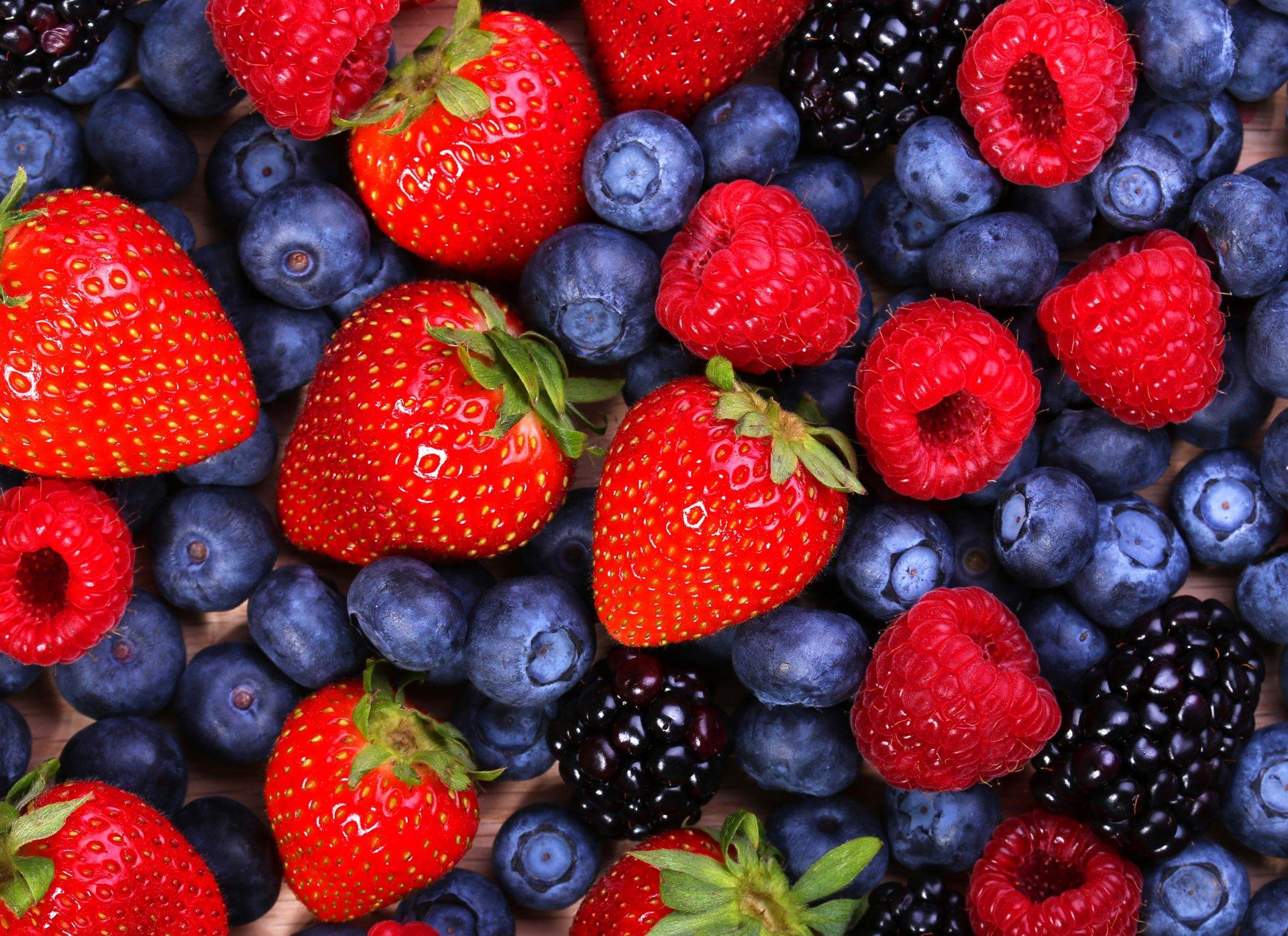 Красивые картинки ягоды на обои