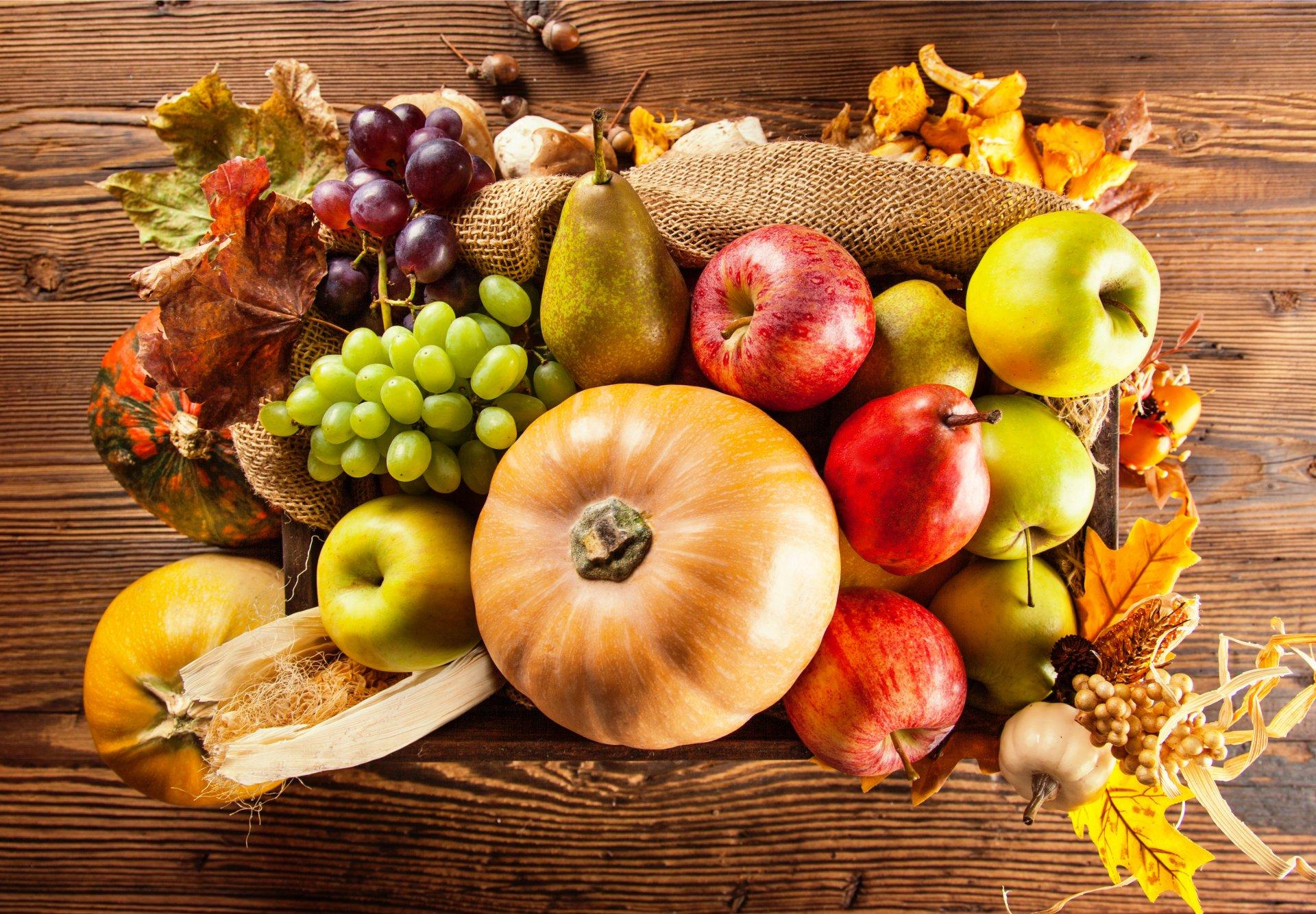 Обои Грибы, фрукты, овощи. Праздники foto 15