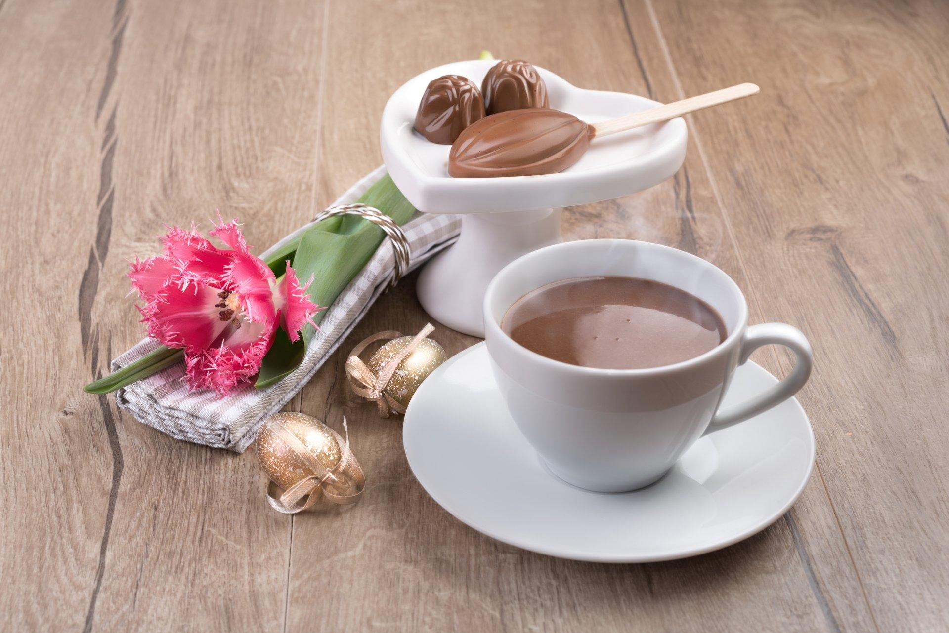 Картинки с утренним кофе и цветами