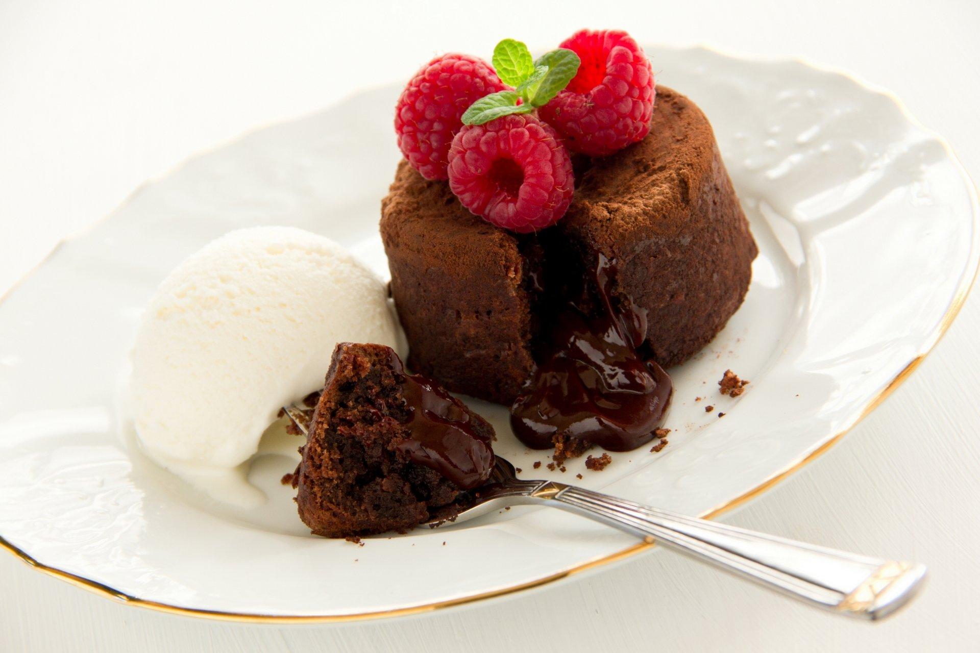 Шоколадные кексы с жидкой начинкой рецепт из какао