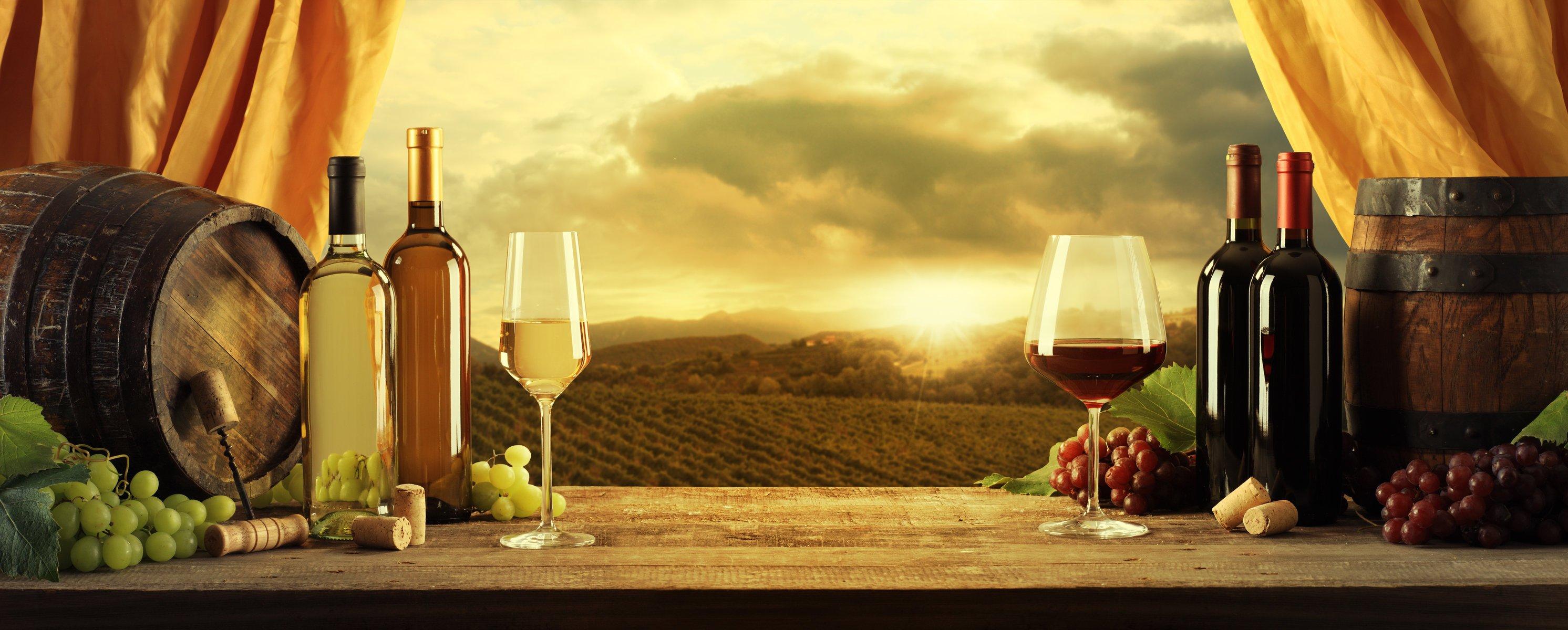 Обои красное, вино, бутылка, виноград, лоза. Разное foto 19
