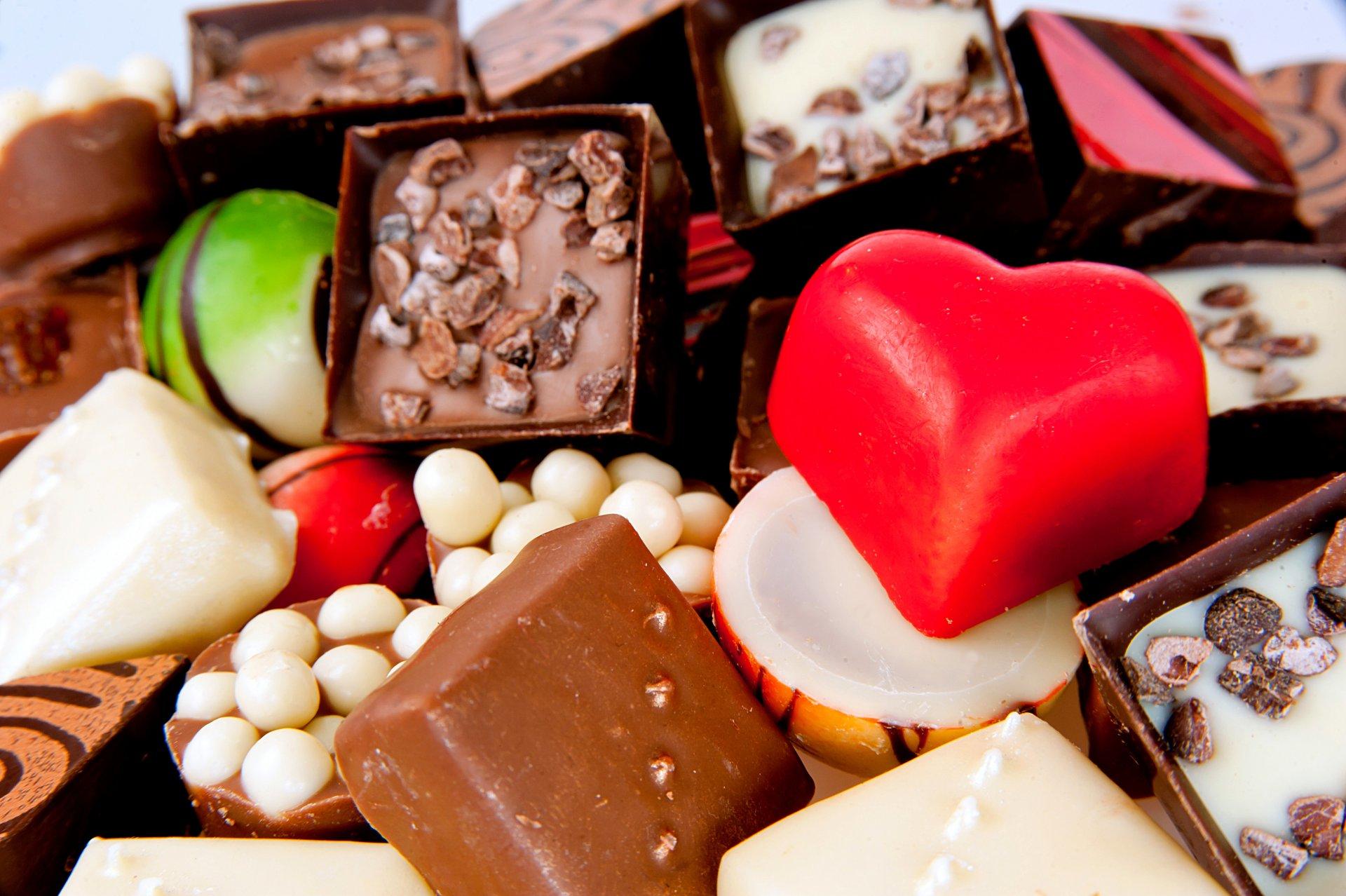 Красивые картинки шоколадных конфет