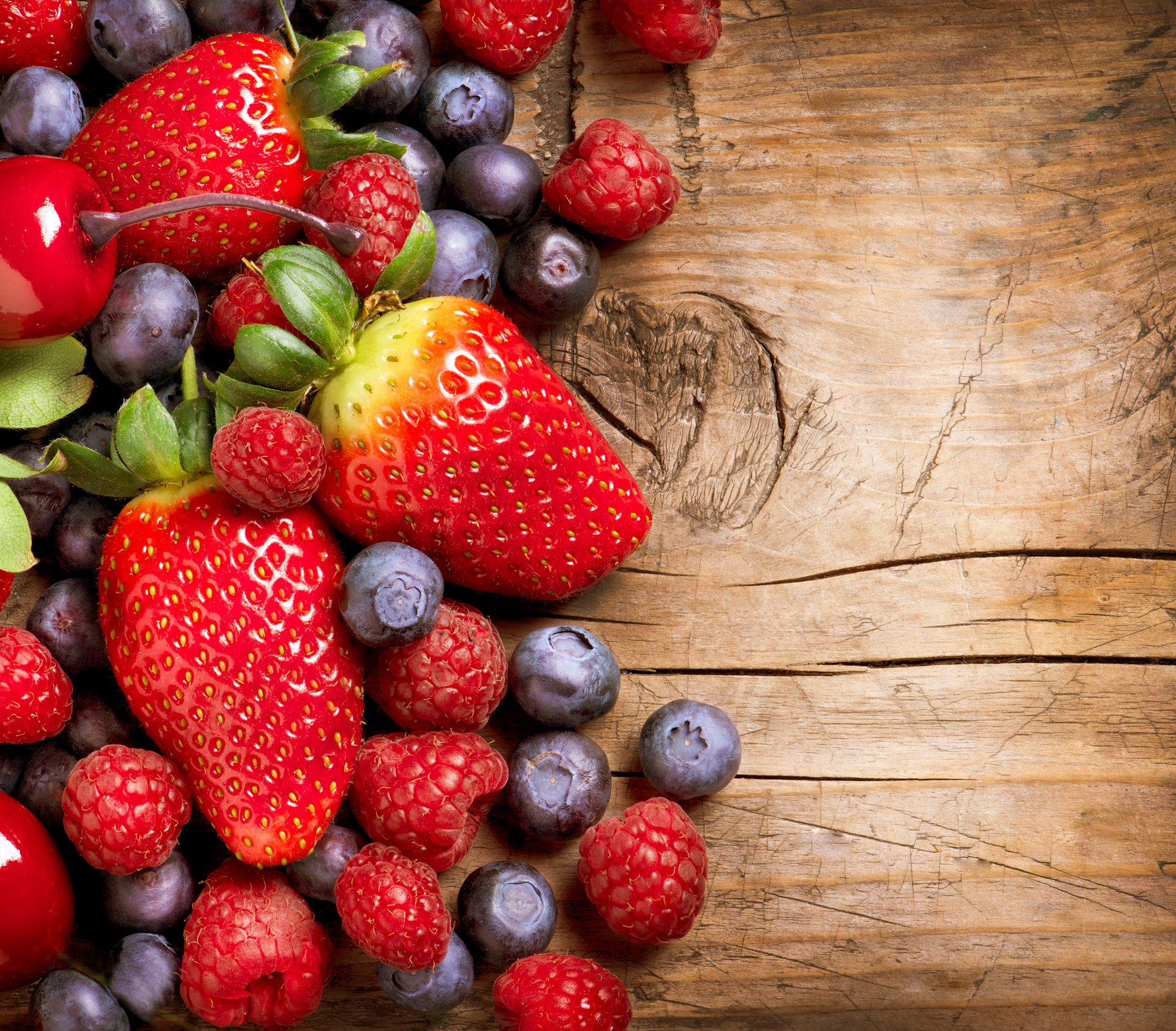 Обои ягода, клубника. Еда foto 15
