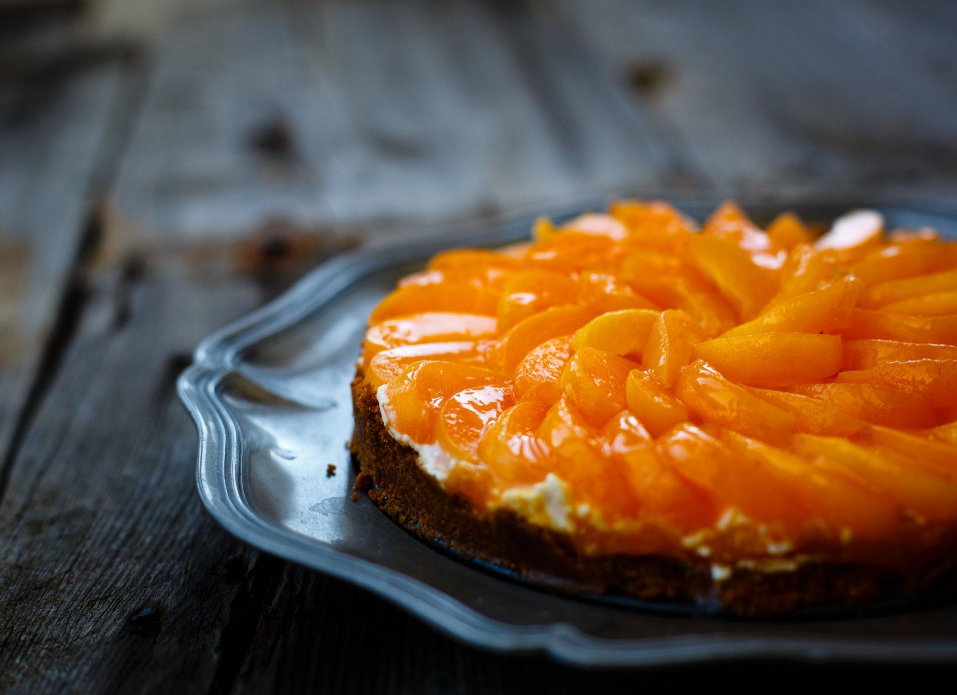 Обои пирог, выпечка, абрикосы. Еда foto 12