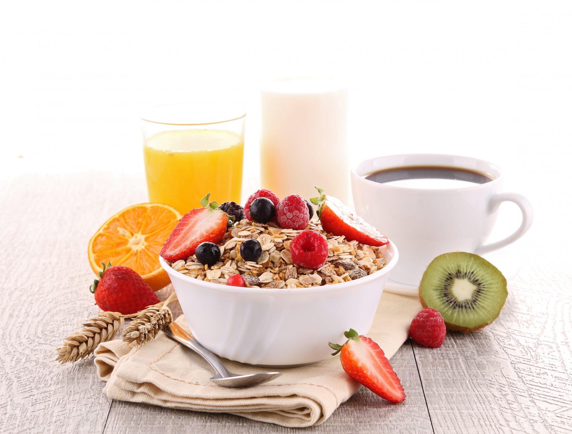 Обои мюсли, завтрак, Гранат. Еда foto 8