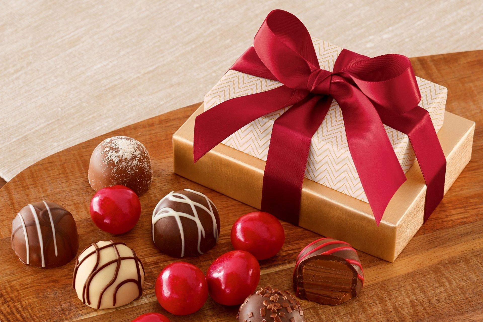 Открытка, открытки сладкие конфеты