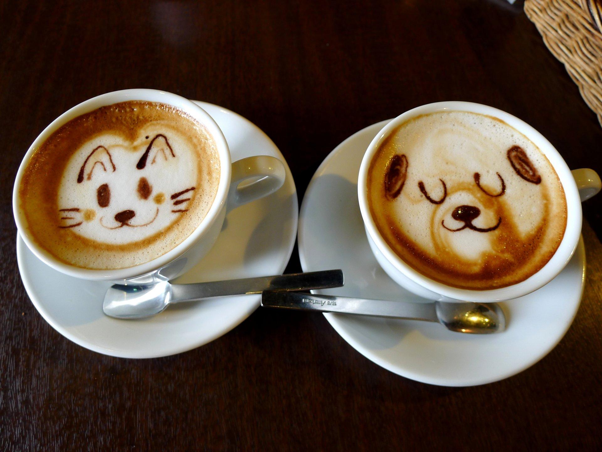 фото кофе в чашке для настроения