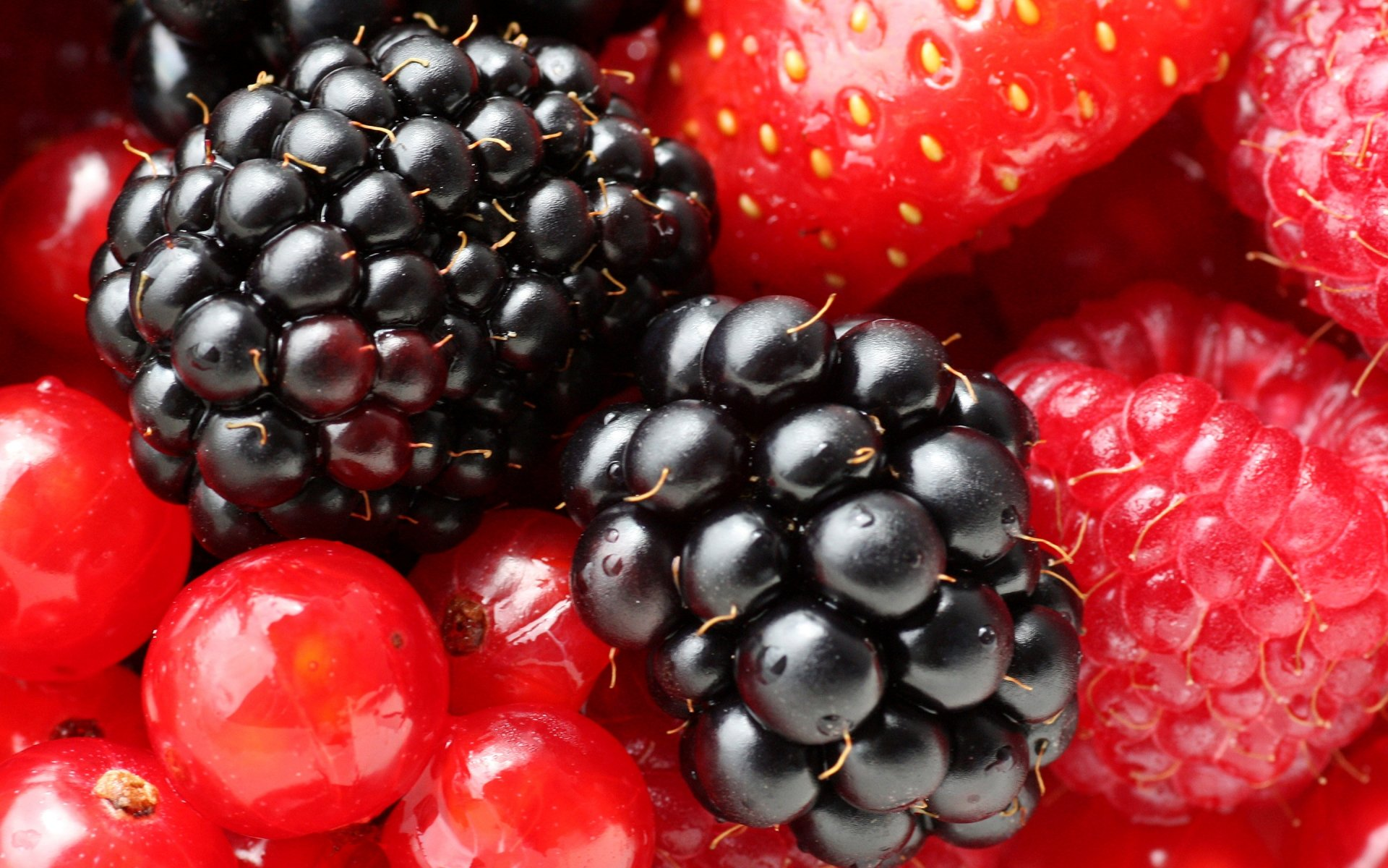 Картинки ягоды и фрукты обои