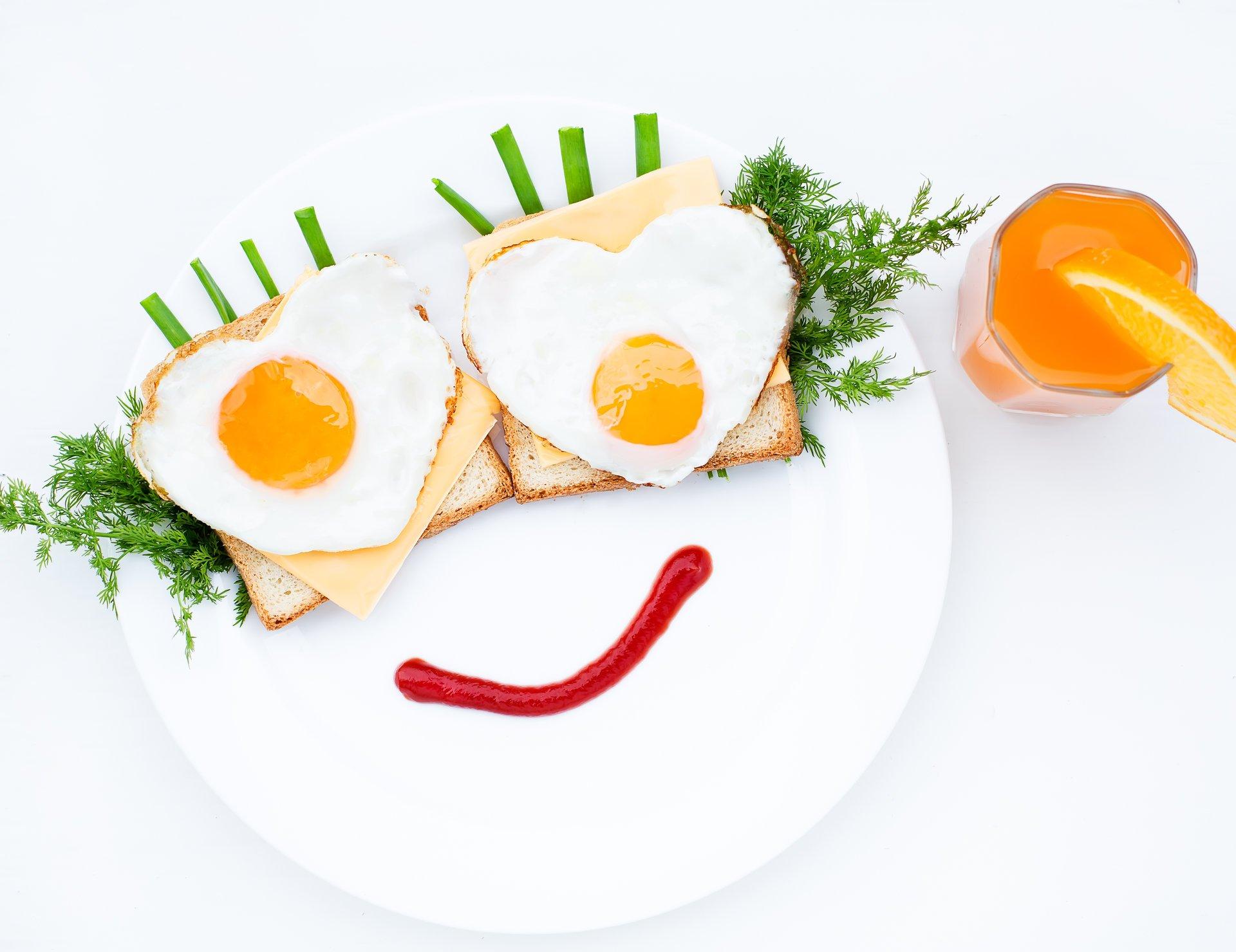 Надписью, прикольные картинки с завтраком и с добрым утром