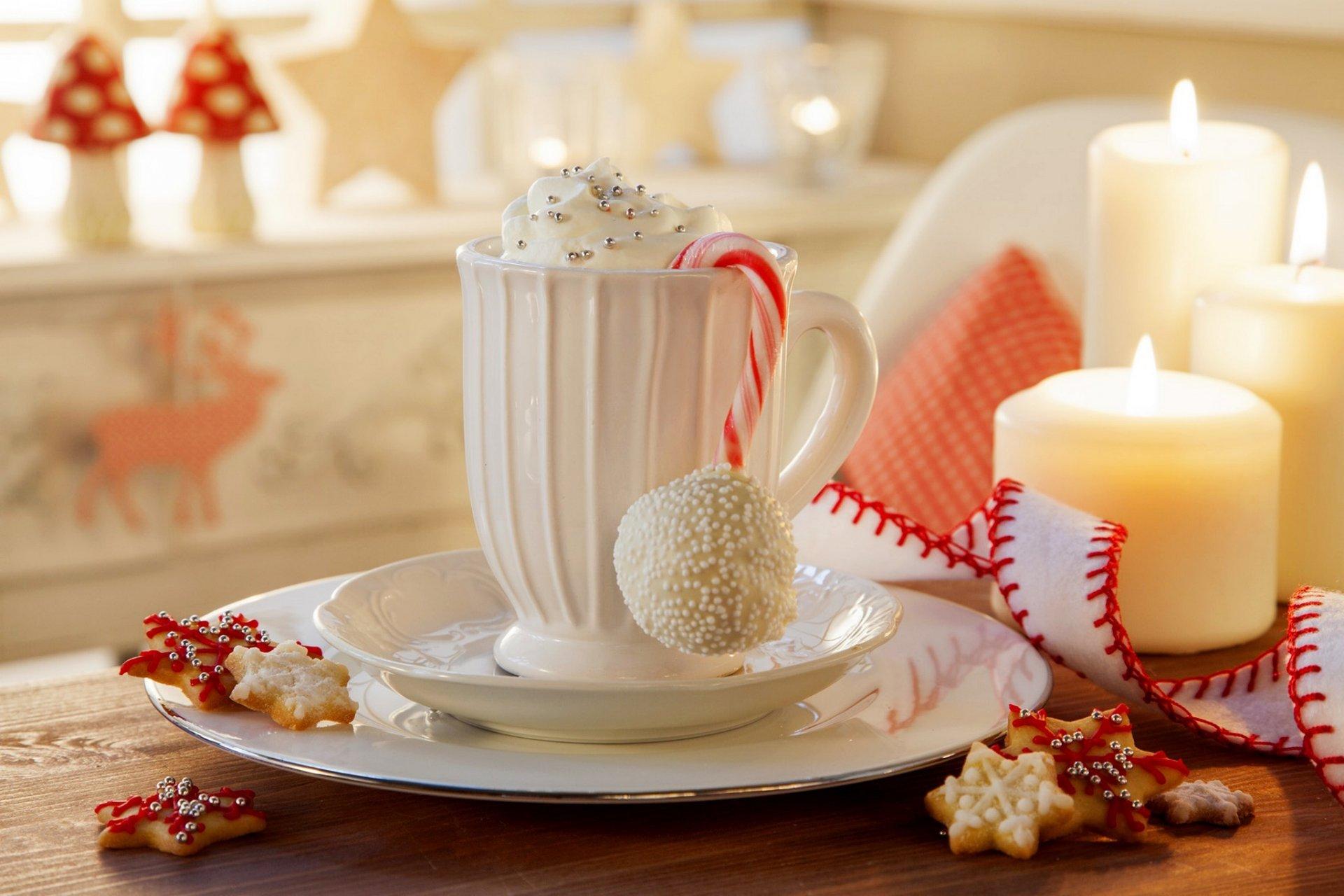 Обои тарелка, стол, свечи. Разное foto 19