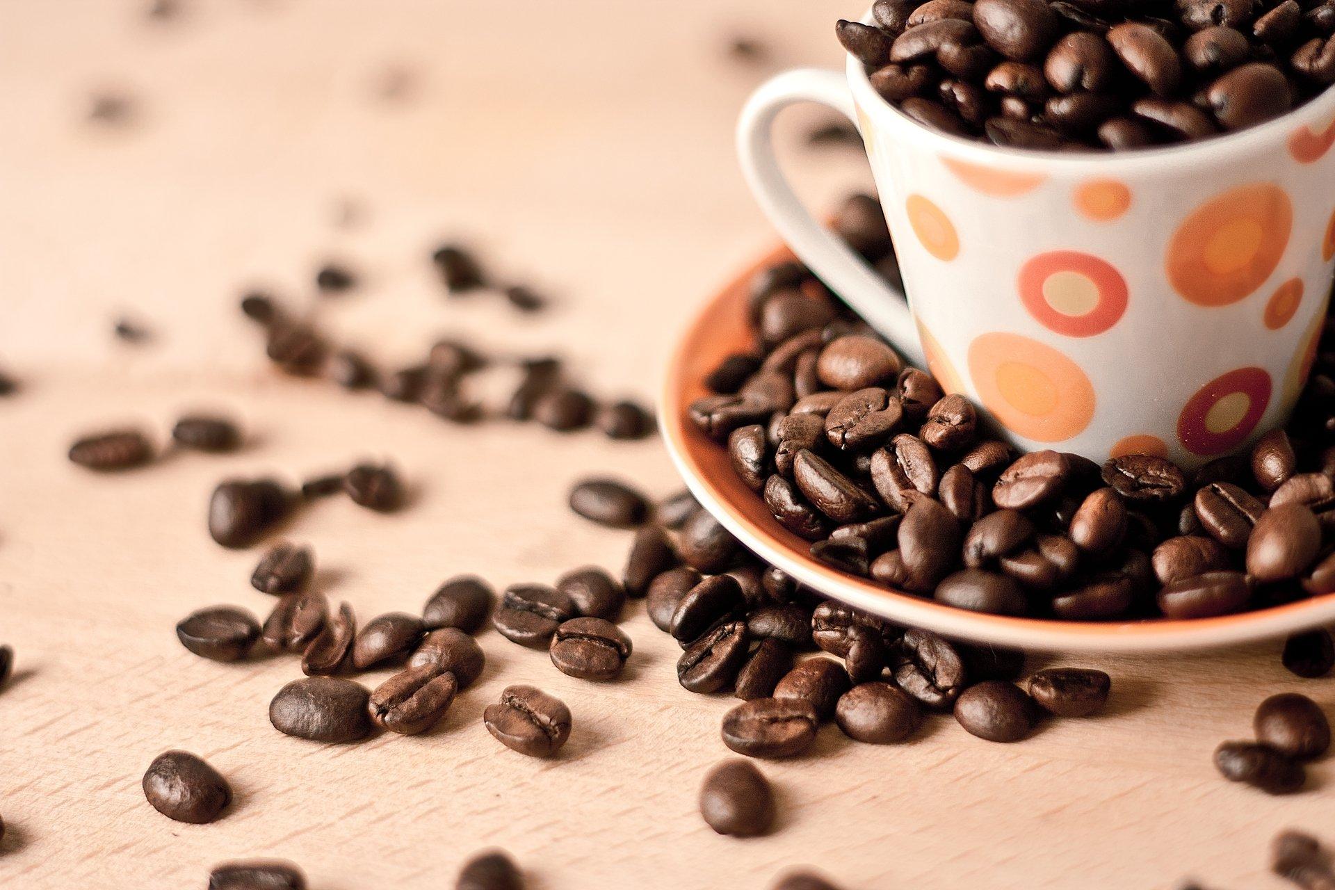 Кофе зерна чашка  № 2172431 загрузить