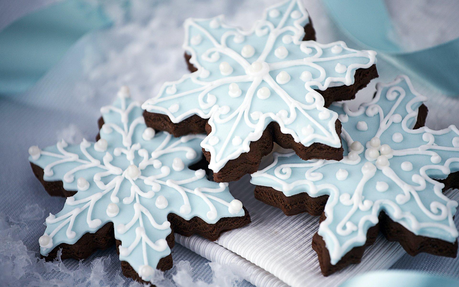 Снежинка для торта своими руками